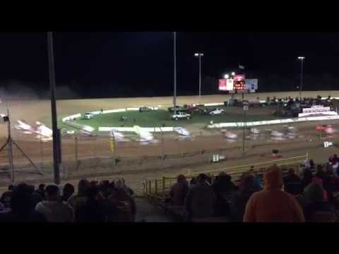 Lernerville Speedway WoO 9-24-16 Commonwealth Clash A-main