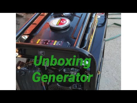 Unboxing Generator Firefly FX1500 100% Capper Wire