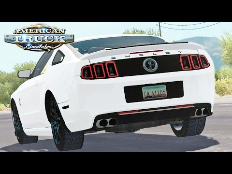 American Truck Simulator - Road Trip In A Shelby GT500
