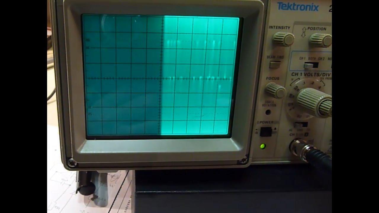 mancave 003 tektronix 2201 oscilloscope power supply description rh youtube com tektronix 2201 service manual Tektronix Digital Oscilloscope