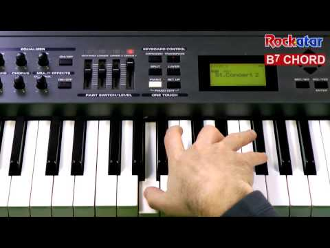 B7 Piano Chord Worshipchords