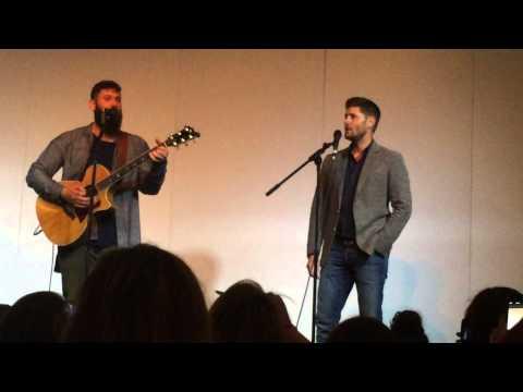 Jensen Ackles and Jason Manns Singing 'Crazy Love' Asylum 14