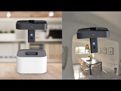 Ring's crazy, flying security cam watches all corners of your home