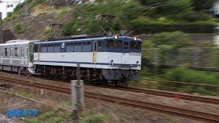 2017/07/23 [JR貨物][甲種輸送] EF65-2094号機+東京メトロ13000系13110F