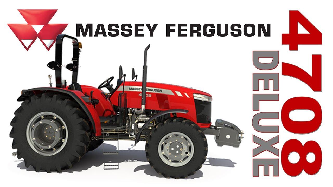 Massey Ferguson 4708 Platform Global Series Walk Around