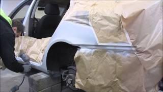 Skoda.  The small body repair. Небольшой ремонт кузова .(The rust repair. Ремонт ржавчинки., 2015-03-22T15:25:32.000Z)