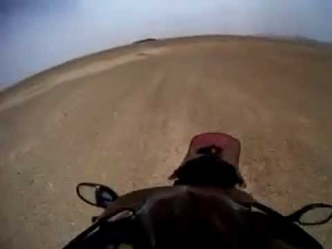 Syrian desert ride / Voznja kroz Sirijsku pustinju