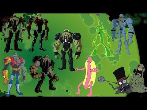 Ben 10 - All Vilgax/Gax Omnitrix Appearances