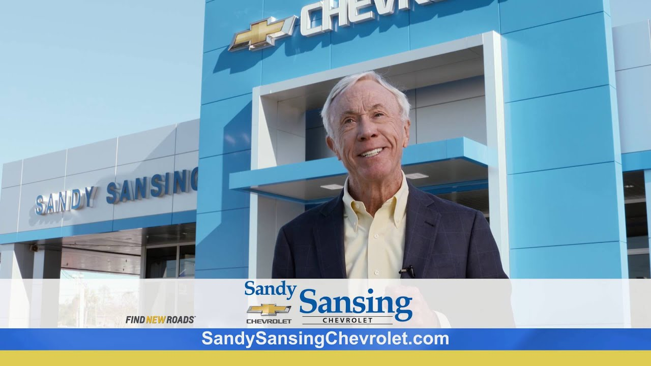 Why from Sandy Sansing Chevrolet