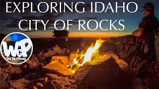 City Of Rocks Idąho Overland Camping Trip
