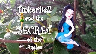 Disney Fairies TinkerBell Slivermist Full Of Fun Figure Secret of Rhododendron Pulchrum Azalea Movie