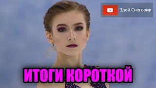 ИТОГИ КОРОТКОЙ ПРОГРАММЫ Женщины Кубок России по Фигурному Катанию 2020 Третий Этап