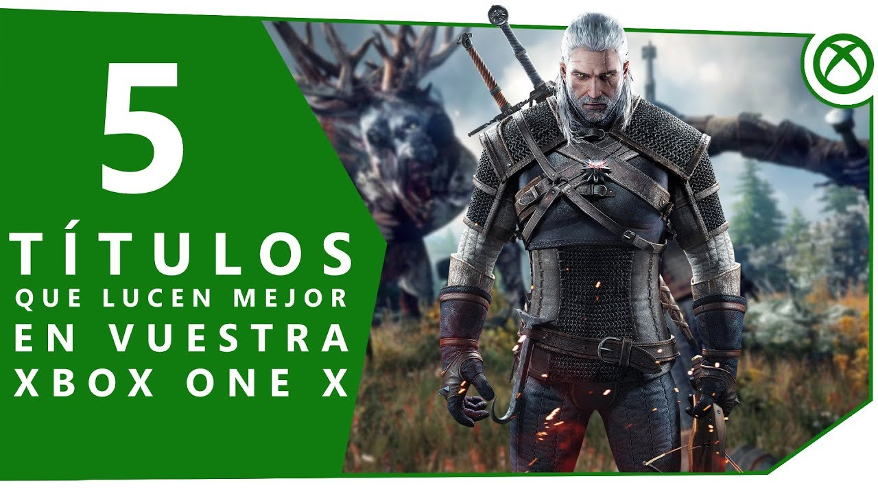 5 Juegos Que Se Ven Increibles En Xbox One X 4k Youtube