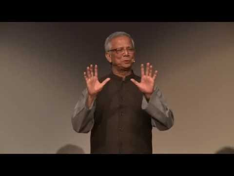 A History of Microfinance | Muhammad Yunus | TEDxVienna (With Subtitles)
