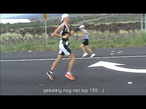 Dirk Baelus - Km '36' marathon Ironman HAWAII 2013