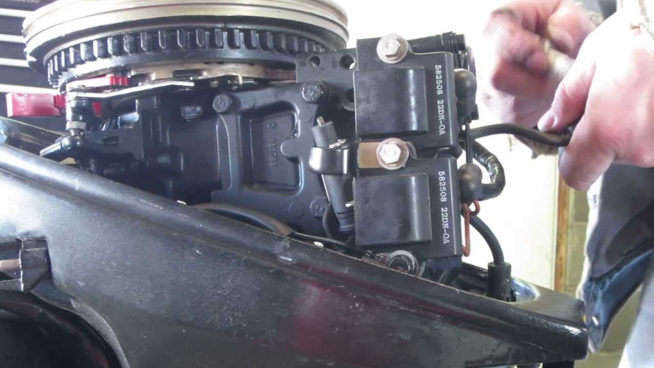 Install Of Stop Switch On 15 Hp Johnson 2 Youtube Outboard Ignition Wiring Diagram