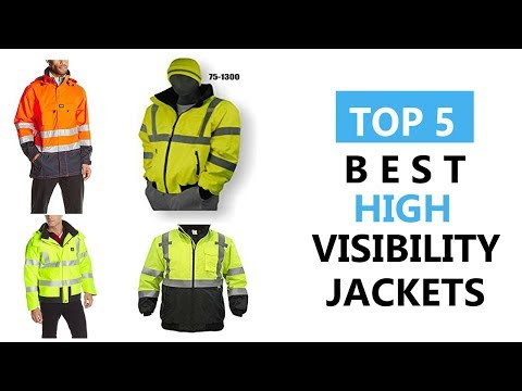 Top 5 Best High Visibility Jackets Review 2017