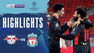 RB Leipzig 0-2 Liverpool | Champions League 20/21 Match Highlights