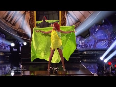 America's Got Talent 2016 Sos & Victoria Quick Change Act Live Shows Round 2 S11E14
