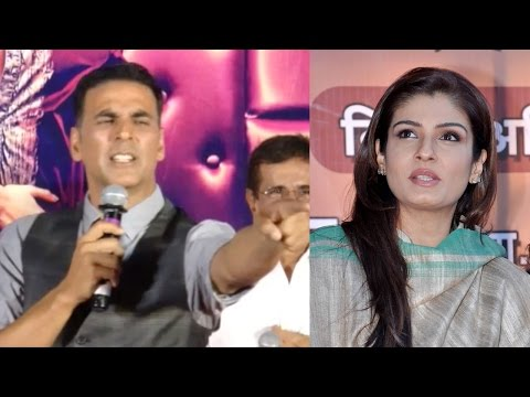 Akshay Kumar GETS ANGRY When Asked About Raveena Tandon