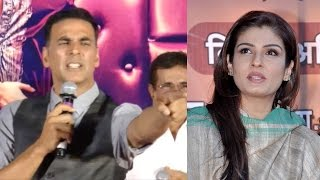 Akshay Kumar GETS ANGRY When Asked About Raveen...