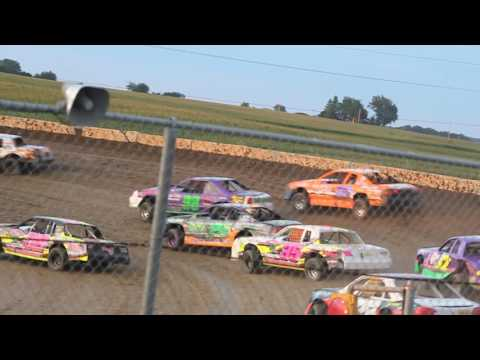 MVI 9681 STUART SPEEDWAY 7/24/2016 STOCK CAR FEATURE