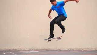 HOW TO SKATEBOARD | POP SHOVE IT WITH GABE CRUZ