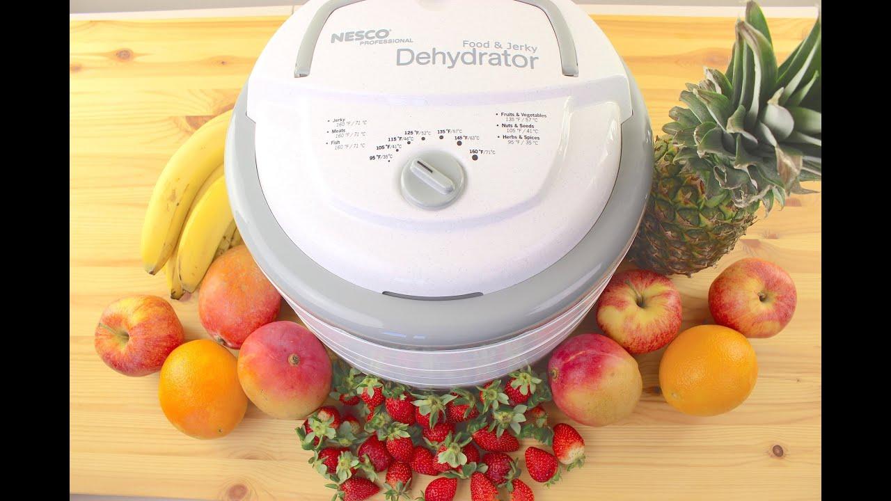 Nesco FD 75PR Snackmaster Pro 600 Watt Food Dehydrator