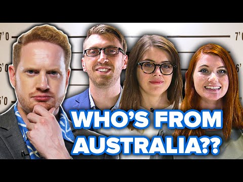 Dialect Coach Guesses Who's Faking The Australian Accent Out Of A Lineup