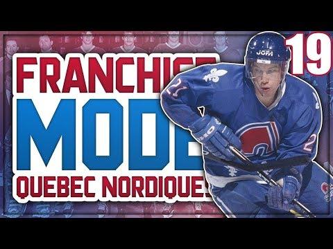 "NHL 18 Franchise Mode - Quebec Nordiques #19 ""WE WON THE LOTTERY!"""
