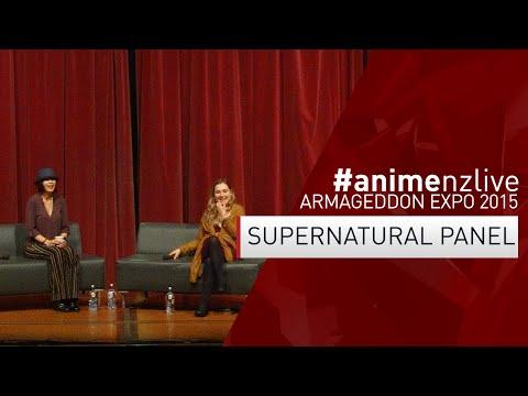 Armageddon Expo 2015: AUCKLAND  Sunday : Supernatural, Rachel Miner & Nicki Aycox animenzlive