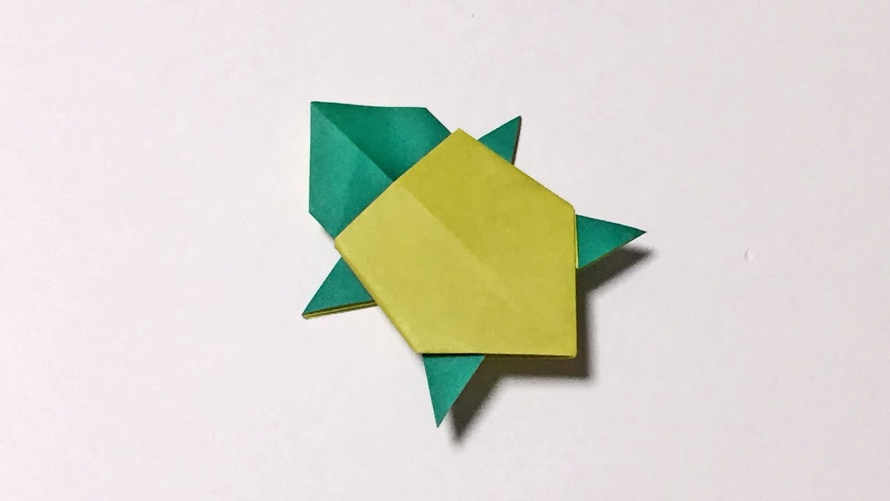 how to make a paper turtle origami turtle easy but cool