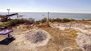 CRCL Drone Video|CRCL OSRP Shell Bagging