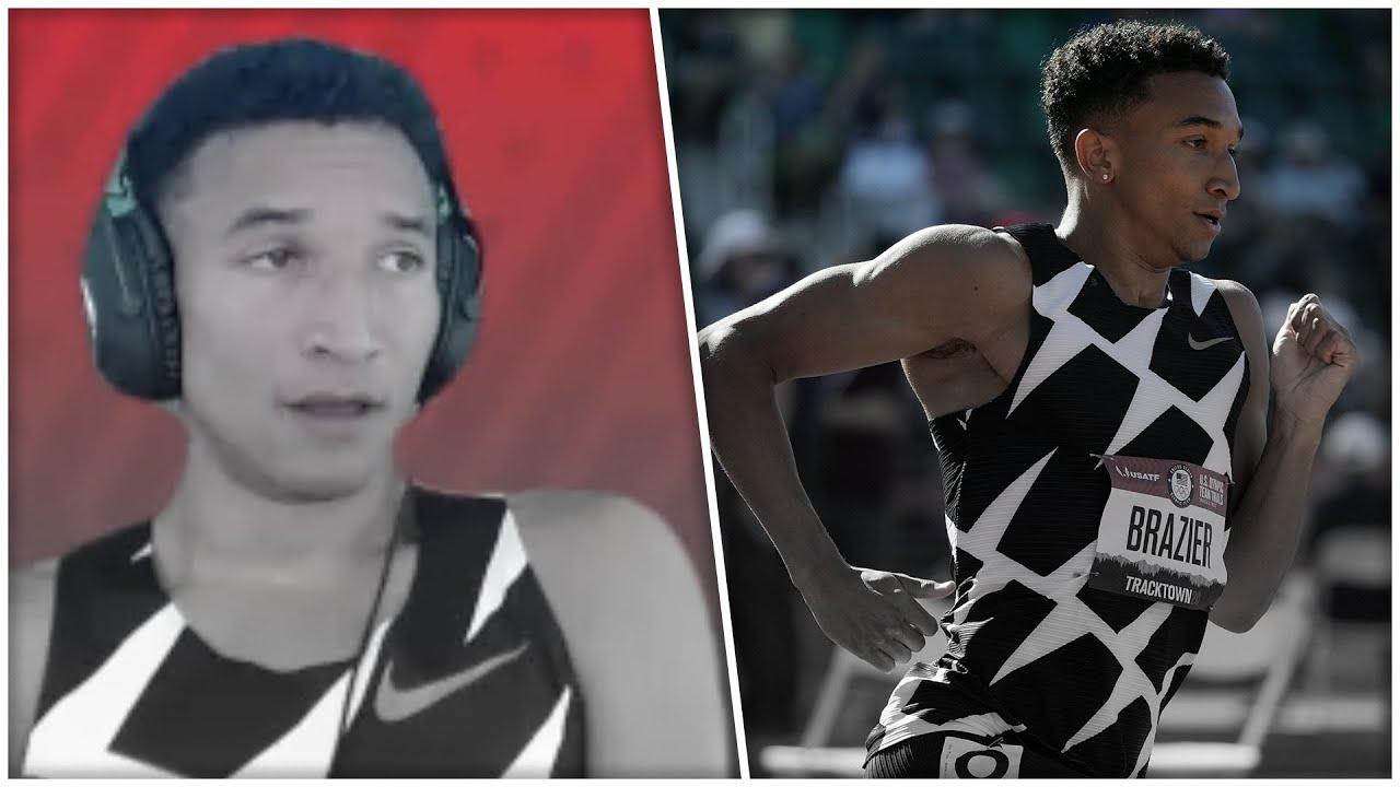 "Download ""I Ran Pretty Shitty"" - Donavan Brazier After 800m Final"