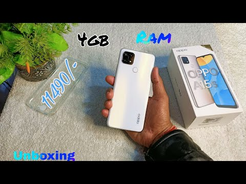 OPPO A15s Unboxing & First Impression Hindi | 4gb Ram 64gb Rom | Fancy White Color | Price 11490