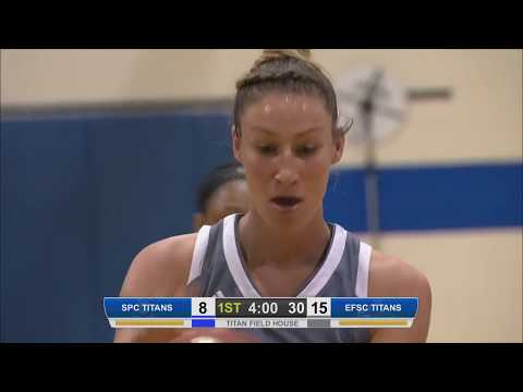 EFSC - Women's Basketball - Eastern Florida State College vs. St Petersburg College