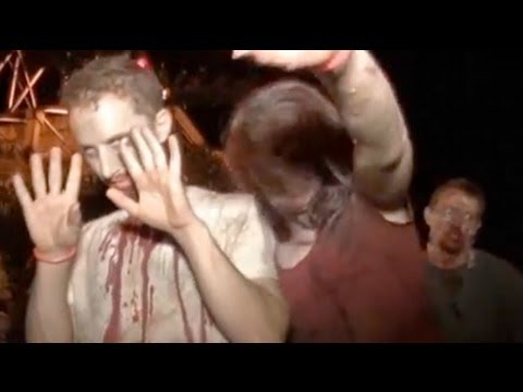 Hundreds Join Zombie Walk In Singapore