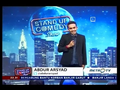 Stand Up Comedy Metro TV Abdur Asyad 23 September 2016