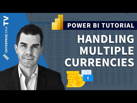 Handling Multiple Currencies in Power BI w/DAX