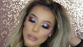 GRWM: METALLIC Silver Eyeshadow | Instagram Makeup