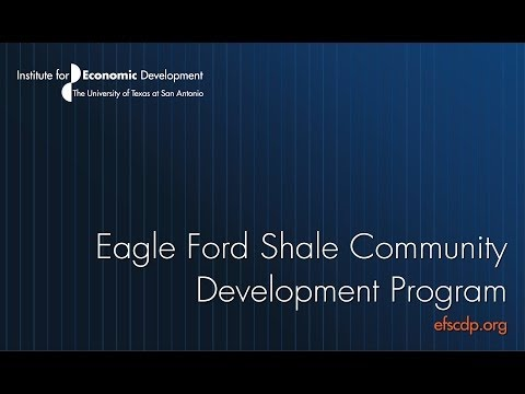 Eagle Ford Shale COmmunity Development Program