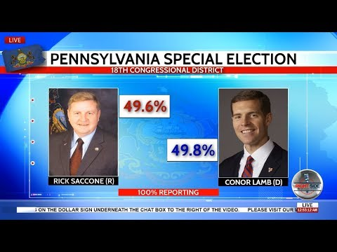 🔴PA Election Results - Saccone vs. Lamb Pennsylvania 18th District - LIVE COVERAGE
