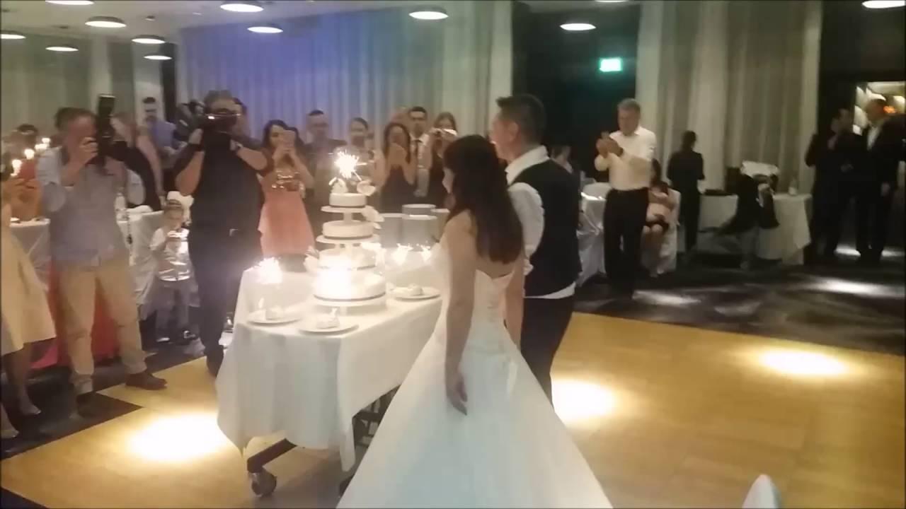 Italienische Internationale Live Musik Hochzeitstorte Fur Das