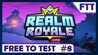 FREE TO TEST #8 ► LE CONCURENT DIRECT DE FORTNITE ! ► REALM ROYALE !