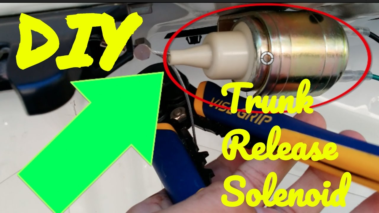 how to install a trunk release solenoid [ 1280 x 720 Pixel ]