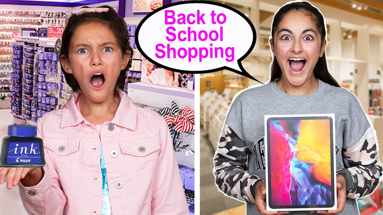 Back to school shopping with the letters I pick challenge