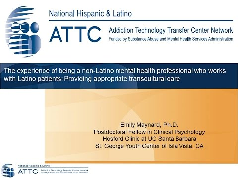 You Don't Have To Be a Latino to Provide Services to Latino Populations