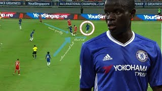 N'golo Kante Analysis - How To Read The Game Like Kante
