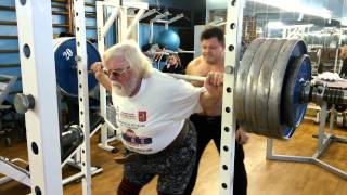 Совместная тренировка В.И.Дикуль и В.И.Пискунов