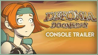 DEPONIA DOOMSDAY - New CONSOLE Announcement Trailer 2019 (PS4 & XB1) HD
